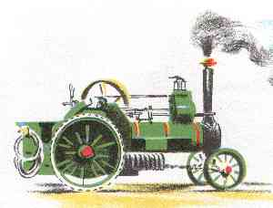 Tilly The Traction Engine